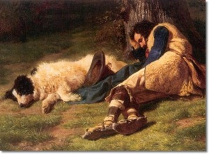 filippo-palizzia-italian-painter-sleeping-shepherd-and-his-dog